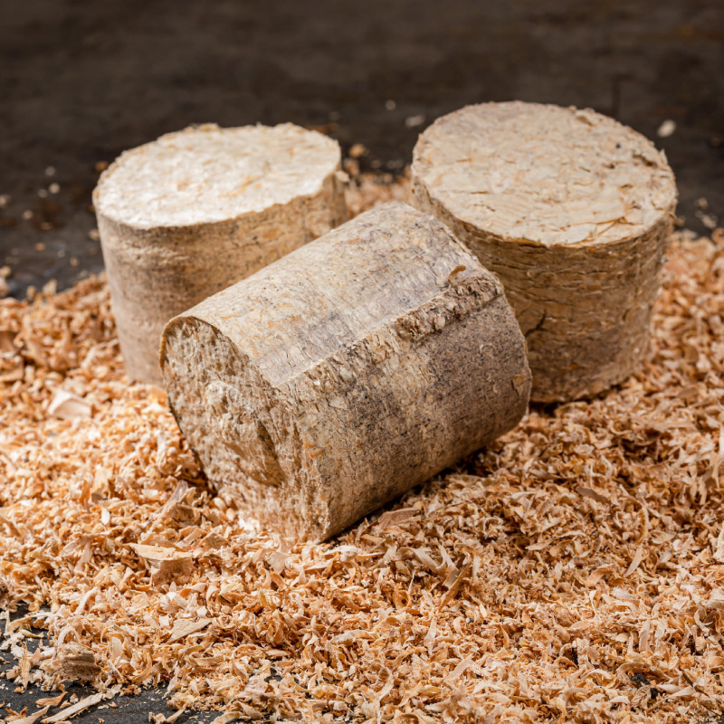 Perché bricchettare i trucioli di legno - CO.MA.FER. Macchine srl
