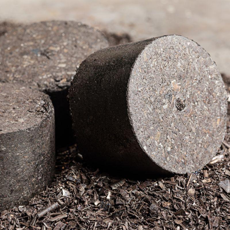 Qualité de compactage des briquettes inégalable - CO.MA.FER. Macchine srl